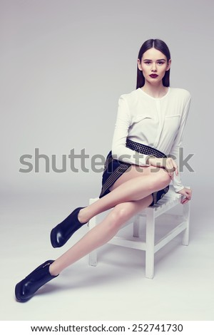 Black Stools Stock Photos Images Amp Pictures Shutterstock