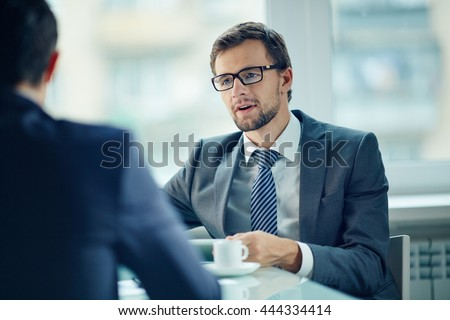 Young employee - stock photo