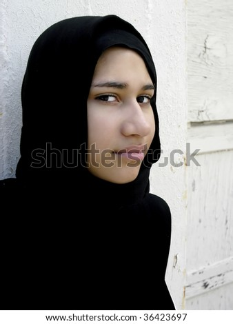 Young ethnic woman