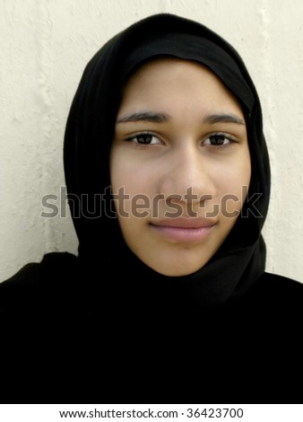 Young ethnic woman - stock photo