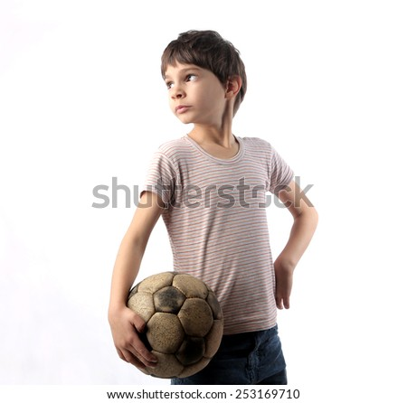 Young footballer  - stock photo