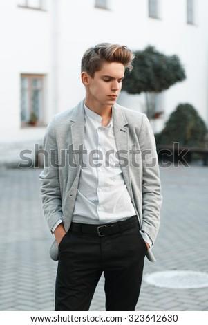 stylish guy stock images royaltyfree images amp vectors