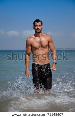 Man Bathing Suit Stock Images, Royalty-Free Images ...