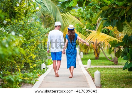 Honeymoon couple stock images royalty free images for Tropical vacations for couples