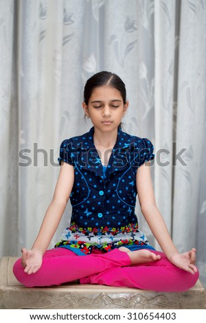 Kids Doing Yoga Stock Images Royalty Free Images