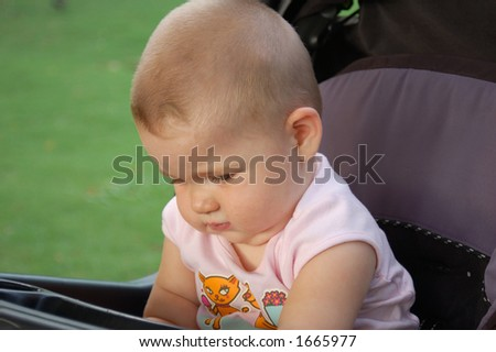 Young kid - stock photo