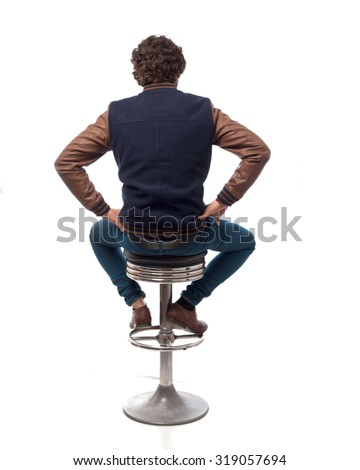 Person Sitting In Chair Stock Images Royalty Free Images