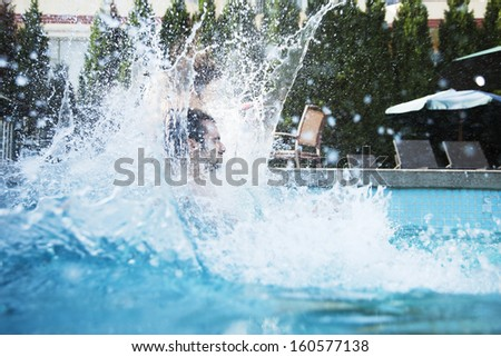 Pool Water Splash water splash swimming pool stock photo 24353686 - shutterstock