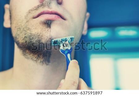 Shaved crotched men