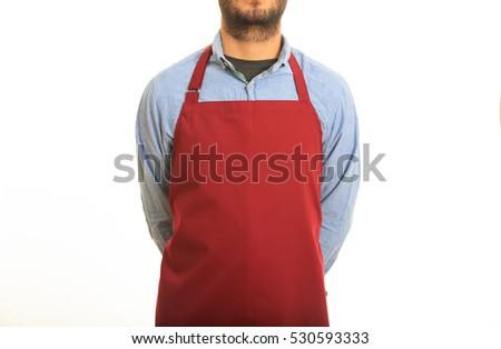 White Kitchen Apron kitchen apron stock images, royalty-free images & vectors