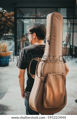 Guitar Case Stock Images Royalty Free Images Amp Vectors