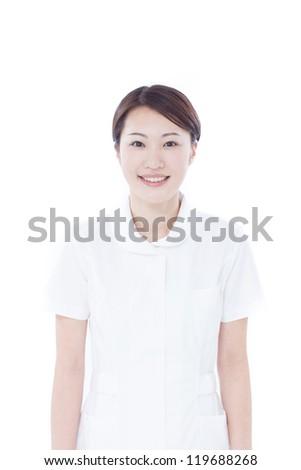 Young nurse - stock photo