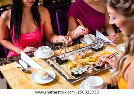 eating sushi stock images royalty free images vectors. Black Bedroom Furniture Sets. Home Design Ideas