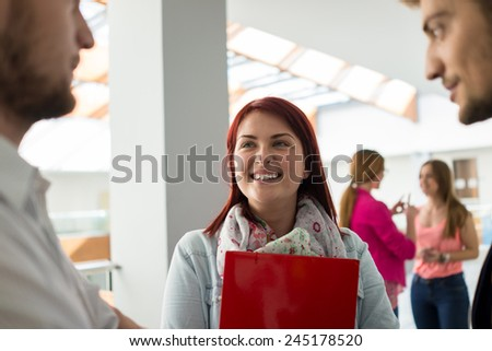 Young people in real authentic life - stock photo