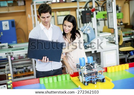 Young People Robotics Classroom Stock Photo Edit Now 272362103