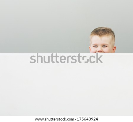 Young pretty boy - stock photo