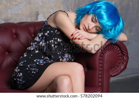 Beautiful Sexy Woman Body Transperent Clothes Stock Photo