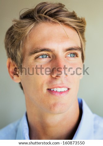 Young Professional, Protrait of Handsome business man - stock photo