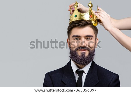 Crown On The Head Stock Images Royalty Free Images