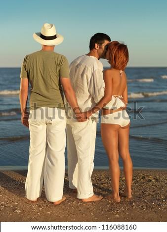 Nude redhead muscular women