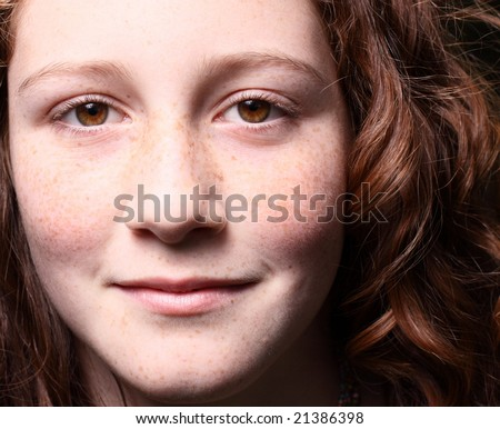 Young woman looking at the camera