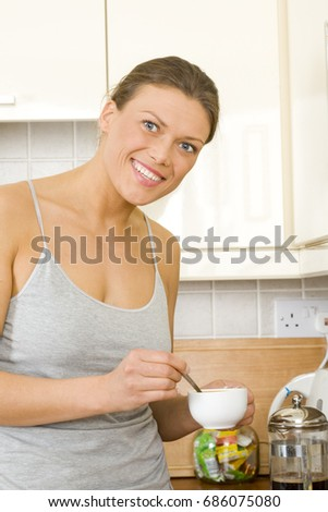 Young Woman Shorts Tank Top Sitting Stock Photo 16382122