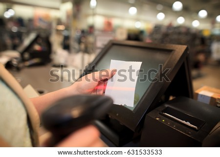 Sample Receipt Template Pdf Invoice Stock Images Royaltyfree Images  Vectors  Shutterstock Peach Cobbler Receipt Pdf with Printable Receipts For Rent Word Young Woman Scanning Some Invoice  Receipt For A Costumer At Huge Shopping  Center Color Jeep Invoice Pricing Pdf