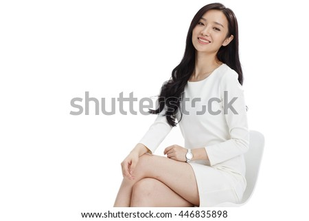 Young women in business - stock photo