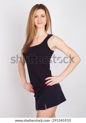 your fitness trainer  - stock photo
