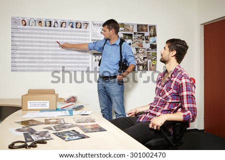 Your victims - stock photo