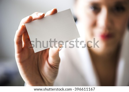 Your visit card here