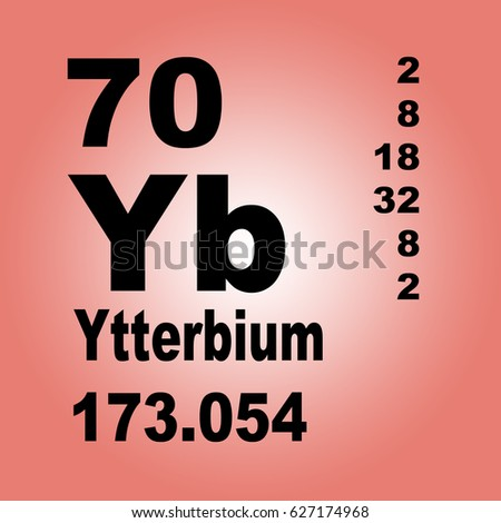 Ytterbium periodic table elements stock illustration 627174968 ytterbium periodic table of elements urtaz Gallery