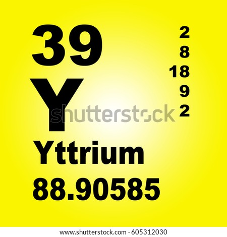 Yttrium periodic table elements stock illustration 605312030 yttrium periodic table of elements urtaz Images