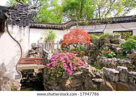 Yu Yuan - The Garden of Peace and Comfort, Shanghai, China