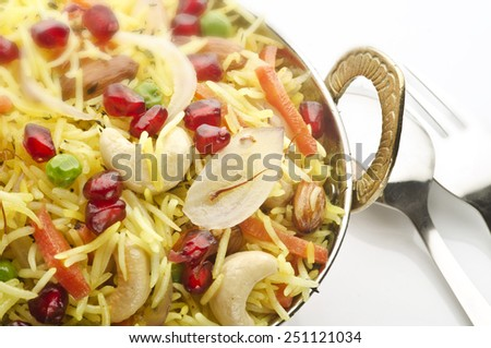 Yummy saffron rice - stock photo