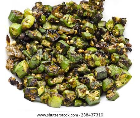 Yummy vindi fry - stock photo