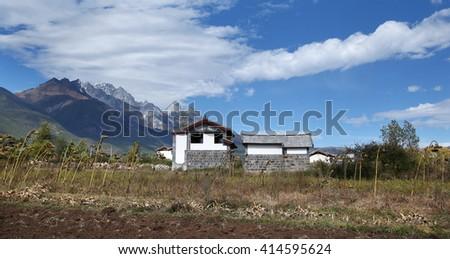 Yunnan lijiang scenery   - stock photo