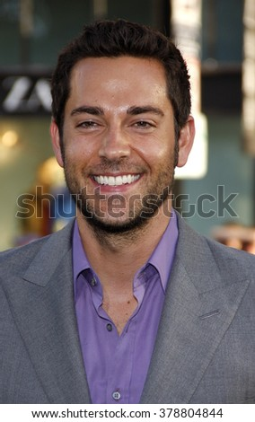"Zachary Levi at the Los Angeles Premiere of ""Green Lantern"" held at the Grauman's Chinese Theatre in Los Angeles, California, United States on June 15, 2011."