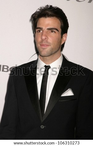 Zachary Quinto  at the NBC, Universal and Focus Features Golden Globe Awards After Party. Beverly Hilton Hotel, Beverly Hills, CA. 01-11-09