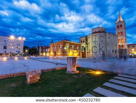 Zadar in Croatia - stock photo