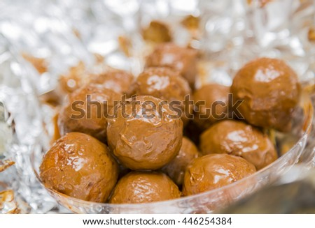 Zalabya - Arabian Dessert - stock photo