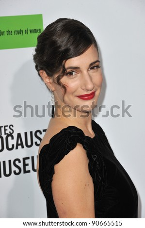 "Zana Marjanovic at the Los Angeles premiere of her new movie ""In The Land of Blood and Honey"" at the ArcLight Theatre, Hollywood. December 8, 2011  Los Angeles, CA Picture: Paul Smith / Featureflash"