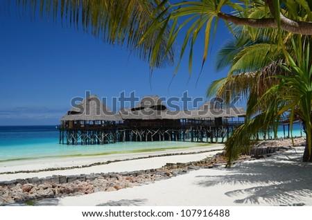 Zanzibar Paradise - stock photo