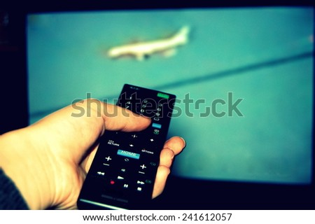 zapping with the television remote control
