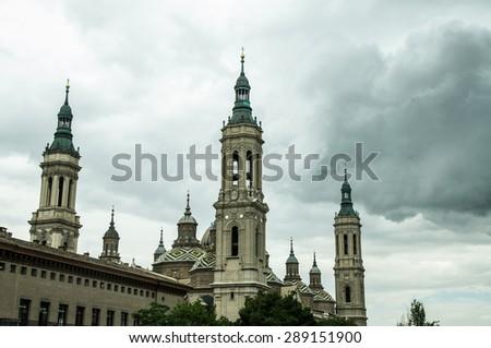 Zaragoza - stock photo