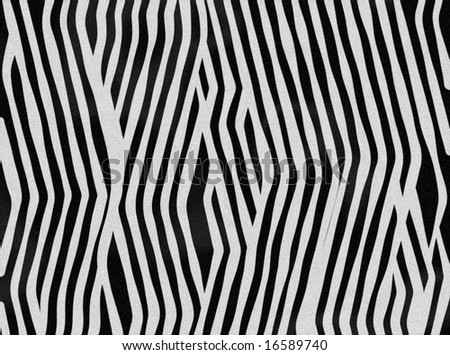 Zebra background as symbol of black and white animal fur