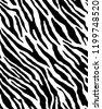 zebra skin repeated seamless...