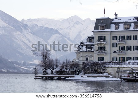 Zell am See Austria - stock photo