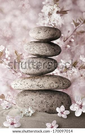 Zen - stock photo