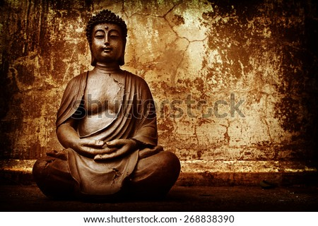 Zen Buddhism - stock photo